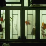 Red Window Ornaments,2011,59.5x85x6.5cm,Archival digital pigment print on transparent film mounted in light box