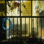 Window With Blue Hose,2012,59.5x85x6.5cm,Archival digital pigment print on transparent film mounted in light box