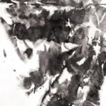 01 鳳凰, 250 x 138 cm, Pastel & Ink on Paper, 2011