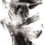 10 嶺上多, 250 x 138 cm, Ink on Paper, 2010