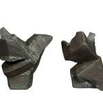 Taichi Series L25.8x25x28cm, 6.1kg,  R25.6x21.5x19cm, 5.3kg, Bronze, 1991, 16-20
