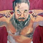 The Artist #1, 2014, oil on linen, 150x120cm
