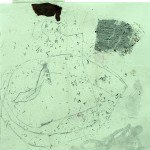 Unsent Letters, 2013, 22 x 23 cm, Mixed media drawings on paper