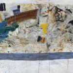 E La Nave Va, 110 x 200 cm, Acrylic on linen,2015