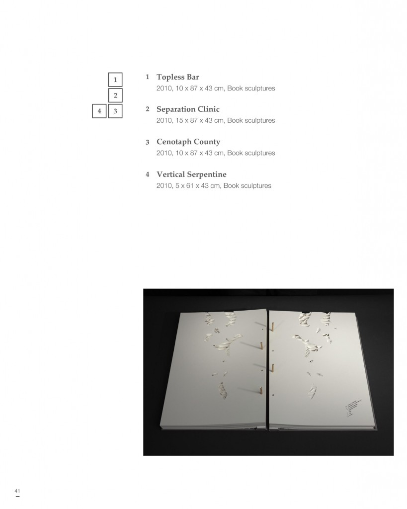 Portable Art Catalogue single page