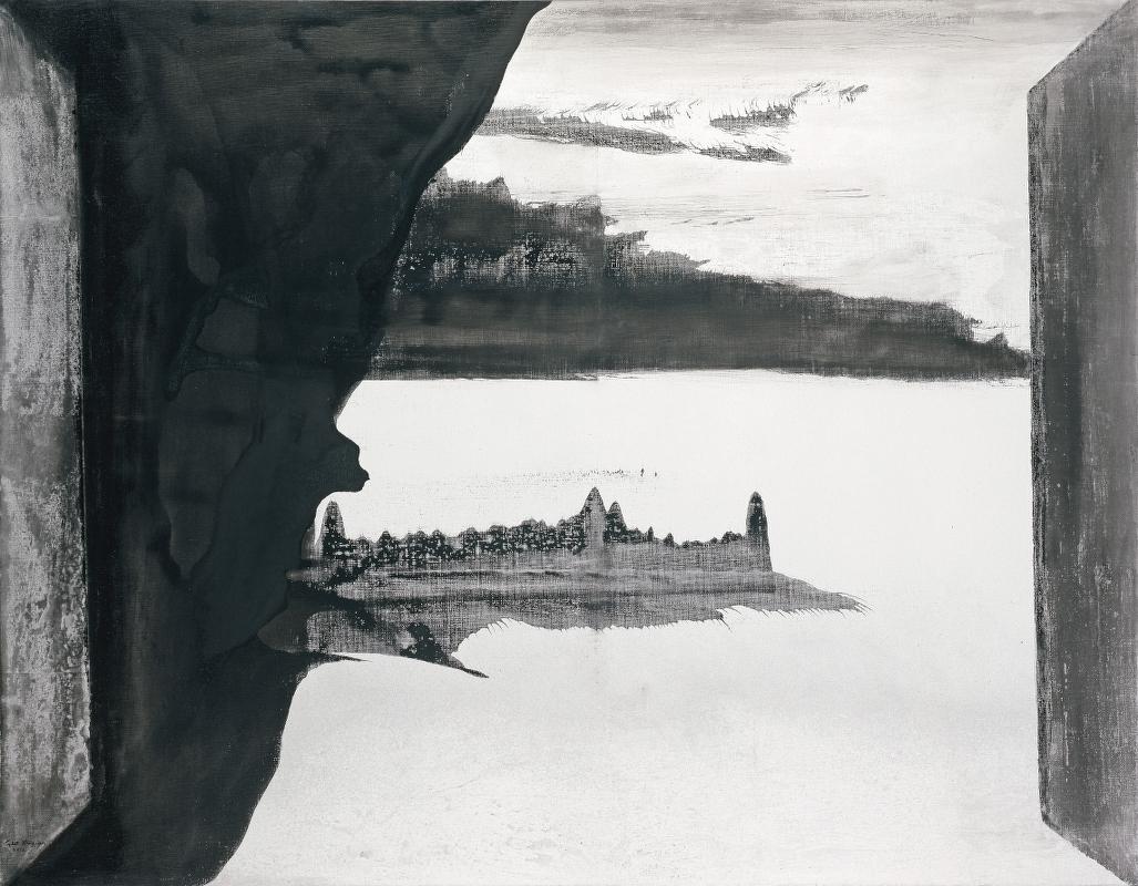 17. GXJ, Intérieur et exterieur, 2011, 114x146cm, Ink on canvas (LR)