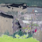 Village, 松阳村舍, 2015, 60 x 60cm, Oil on Canvas