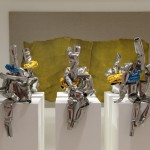 Ju Ming's Living World Series in stainless steel