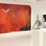 Milenko Prvacki's large painting