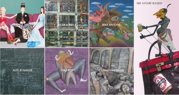 indo artists web banner with names ipreciation com
